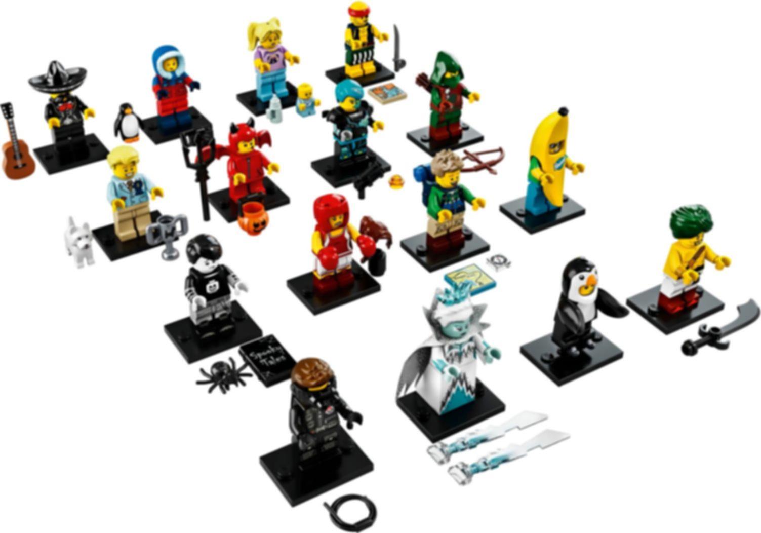 Series 16 minifigures