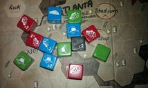 The Walking Dead: The Board Game components
