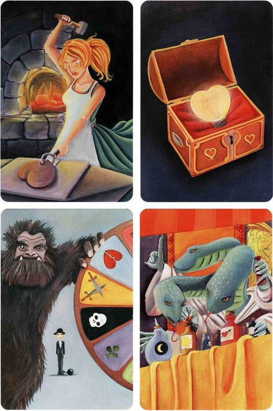 Dixit Odyssey cards