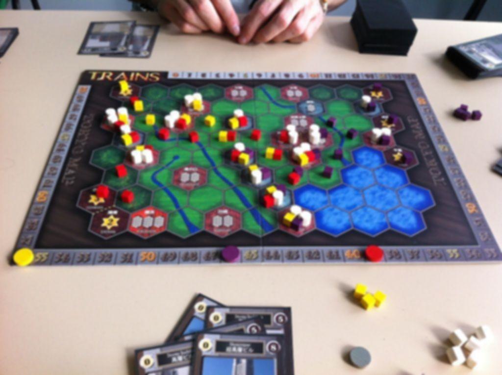 Trains gameplay