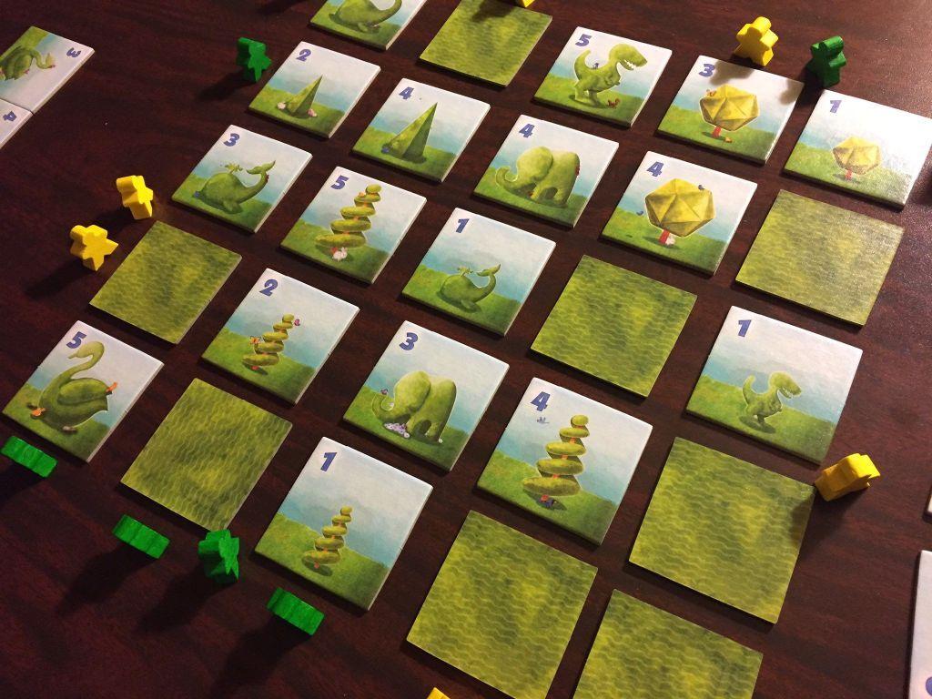 Topiary gameplay