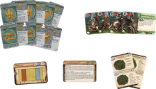Runewars Miniatures Game: Latari Elves – Army Expansion components