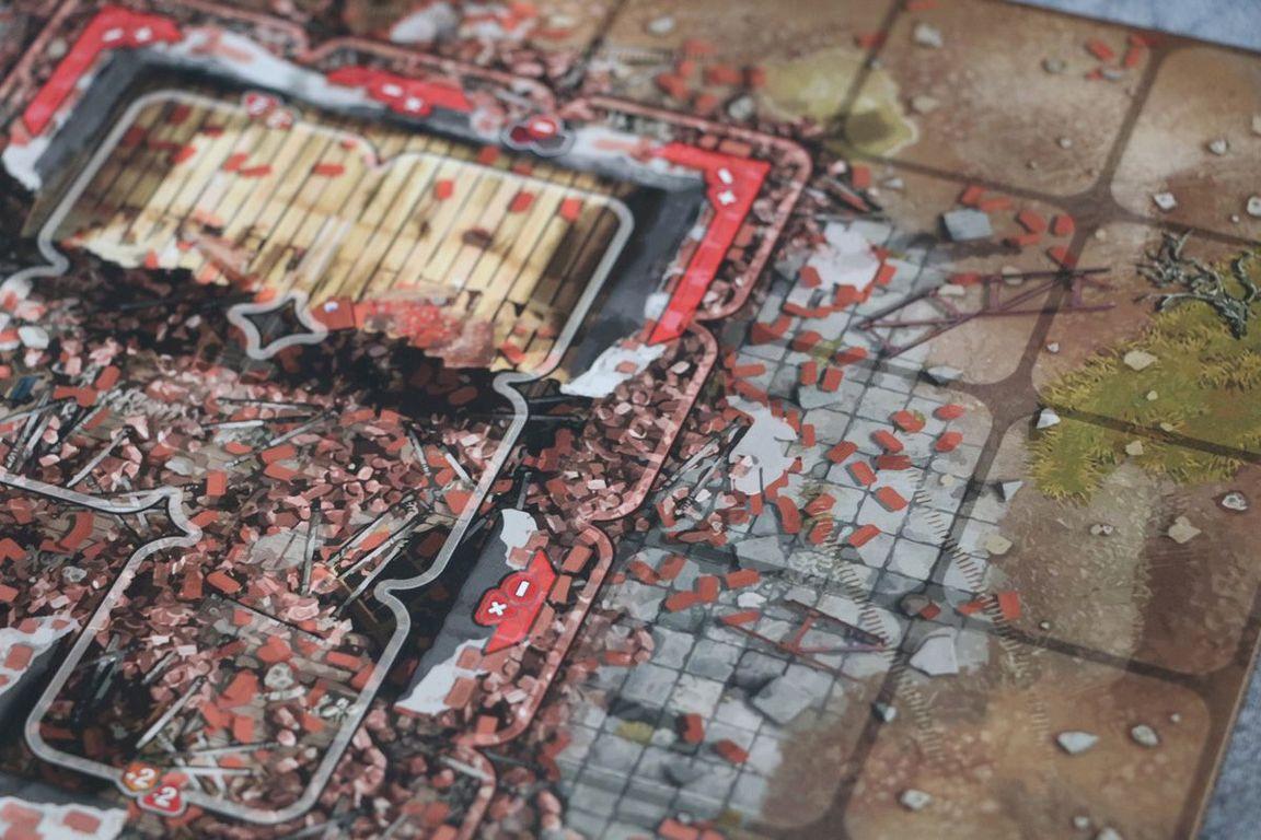 Heroes of Stalingrad game board