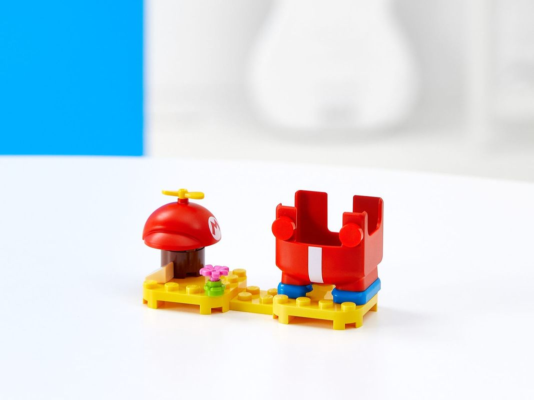Propeller Mario Power-Up Pack components