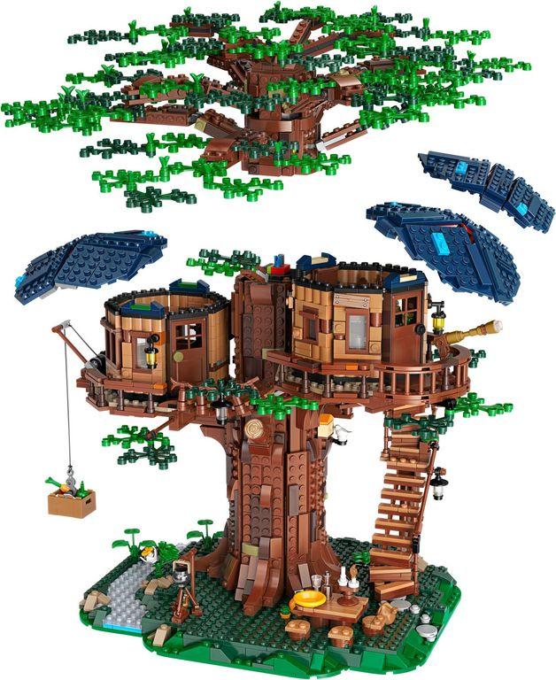 LEGO® Ideas Tree House components