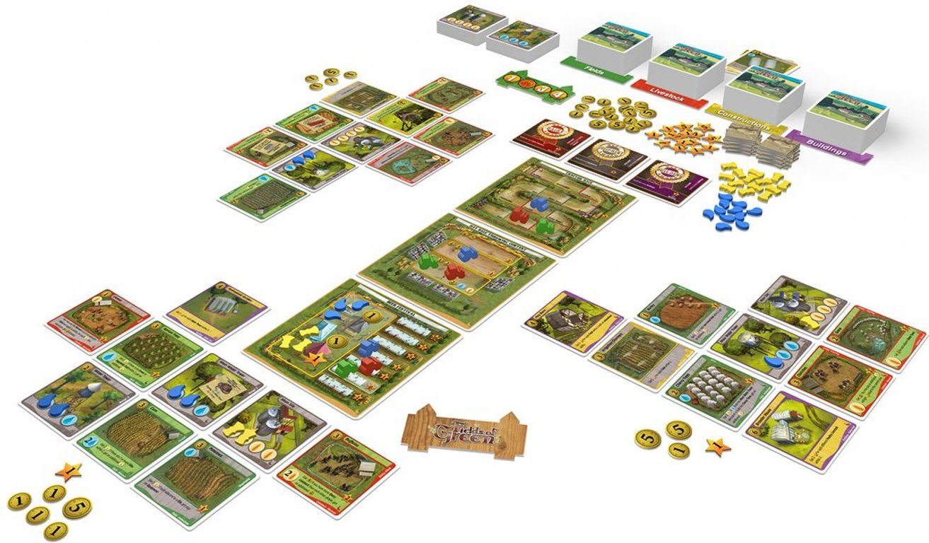 Fields of Green: Grand Fair components