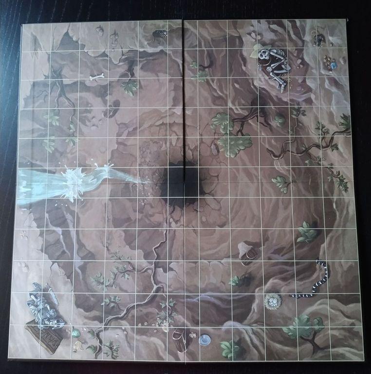 Dragon Rush game board