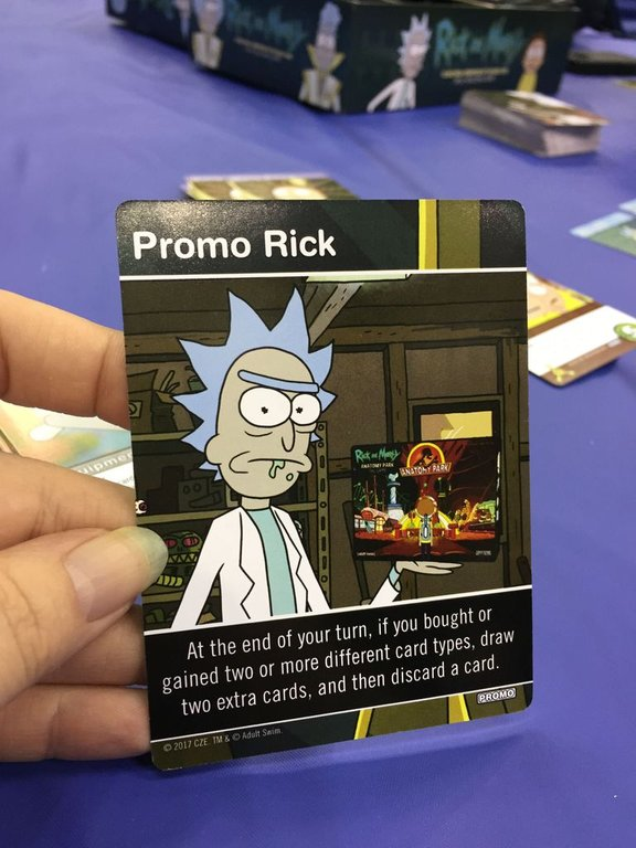 Rick and Morty: Close Rick-Counters of the Rick Kind Deck-Building Game cards