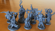 Rising Sun: Dynasty Invasion miniatures