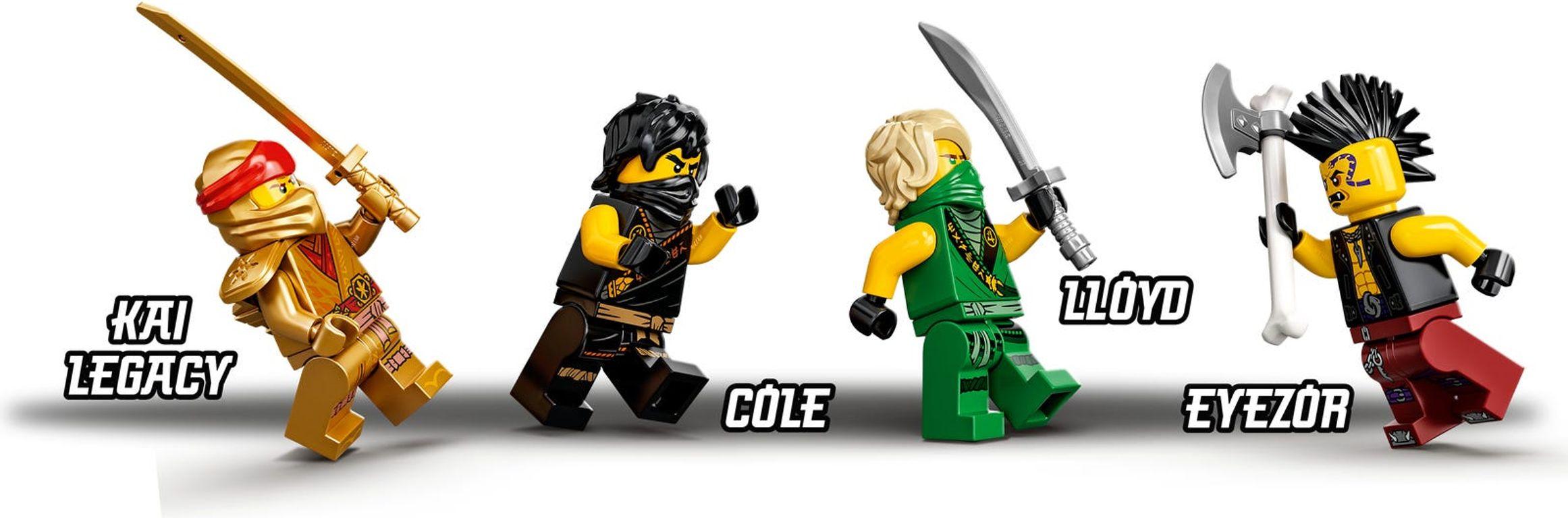 LEGO® Ninjago Boulder Blaster minifigures