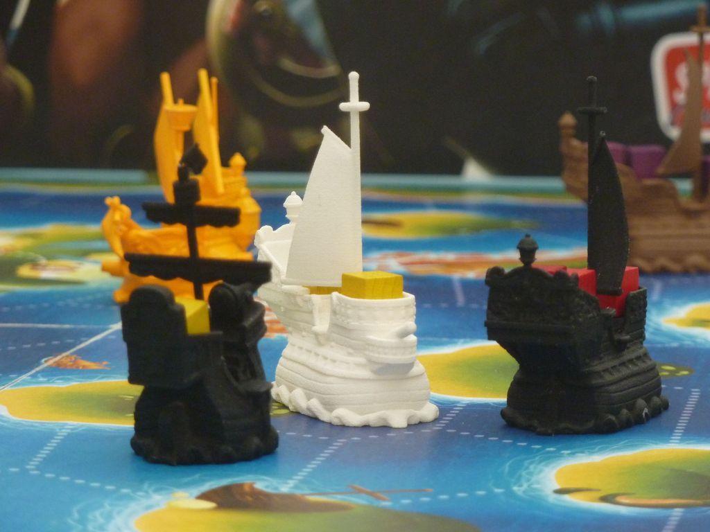 Black Fleet miniatures