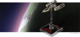Star Wars: X-Wing (Second Edition) – BTL-A4 Y-Wing Expansion Pack miniature