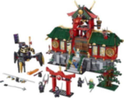 LEGO® Ninjago Battle for Ninjago City components