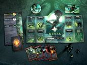 Dice Throne: Season One ReRolled – Treant v. Ninja components