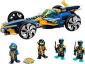 LEGO® Ninjago Ninja Sub Speeder components