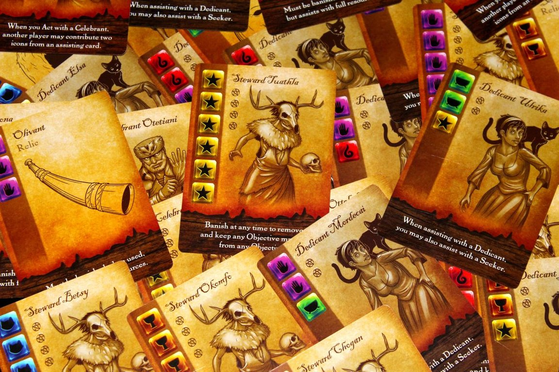 Witches of the Revolution cards