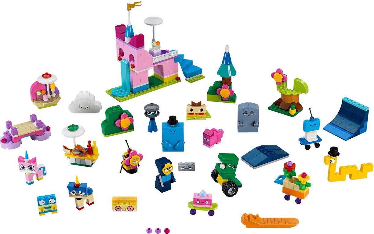 LEGO® Unikitty! Unikingdom Creative Brick Box components