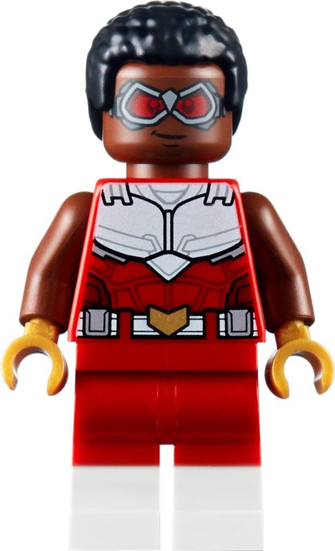 Falcon & Black Widow team up minifigures