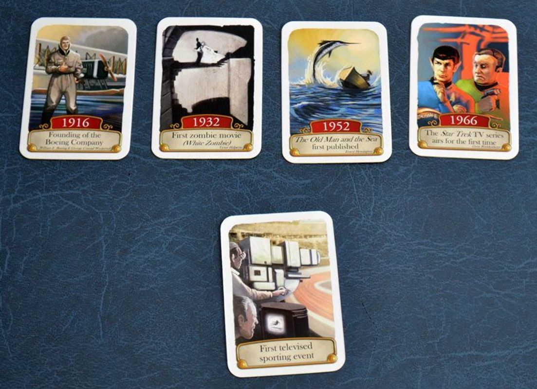 Timeline: Americana cards