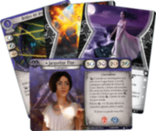 Arkham Horror: The Card Game – Jacqueline Fine: Investigator Starter Deck cards