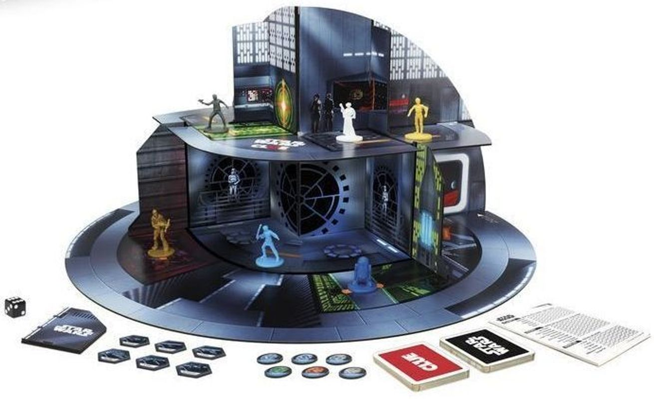 Clue: Star Wars edition components