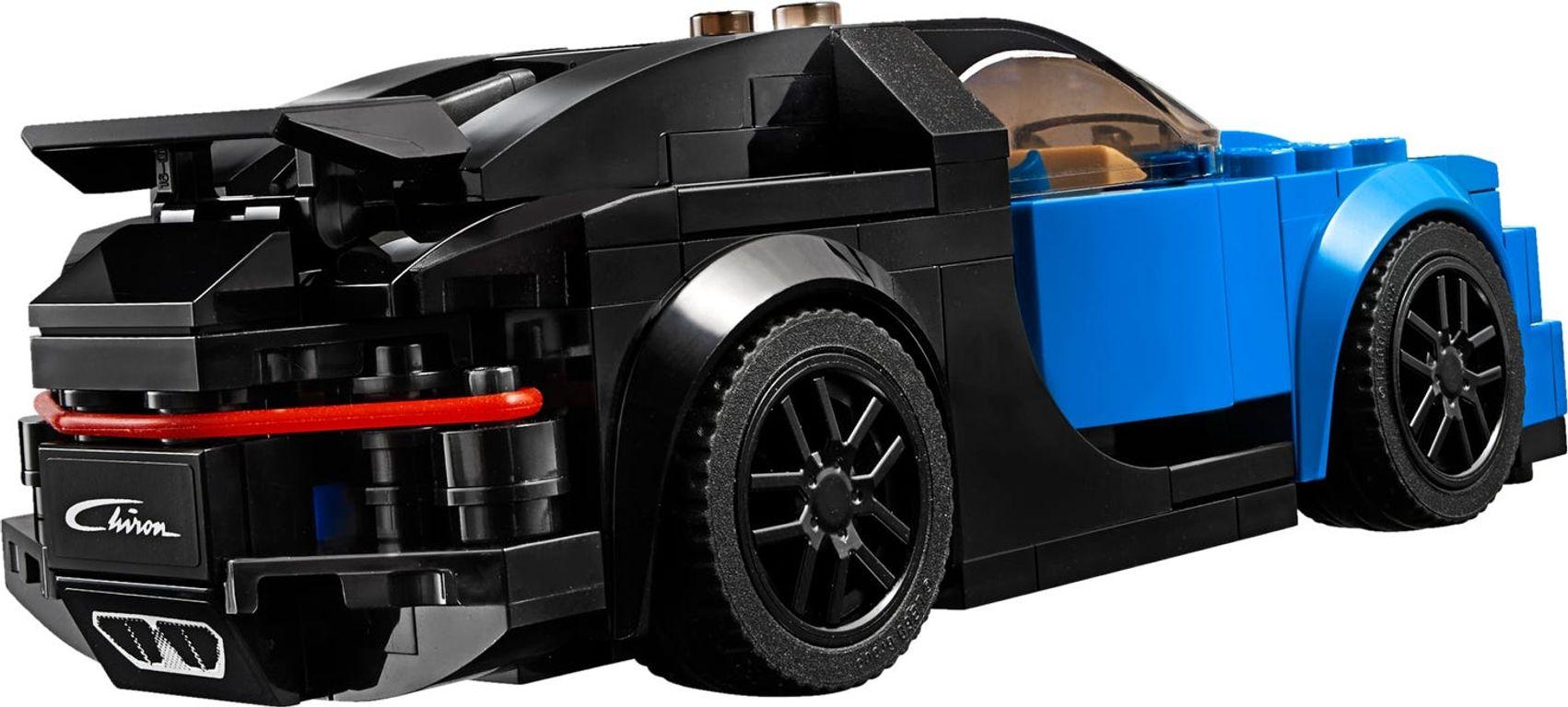 LEGO® Speed Champions Bugatti Chiron back side
