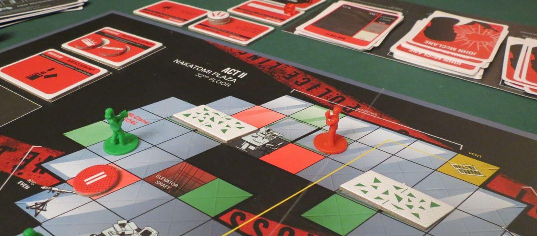 Die Hard: The Nakatomi Heist Board Game gameplay