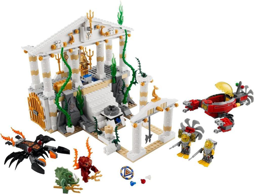 Temple of Atlantis components