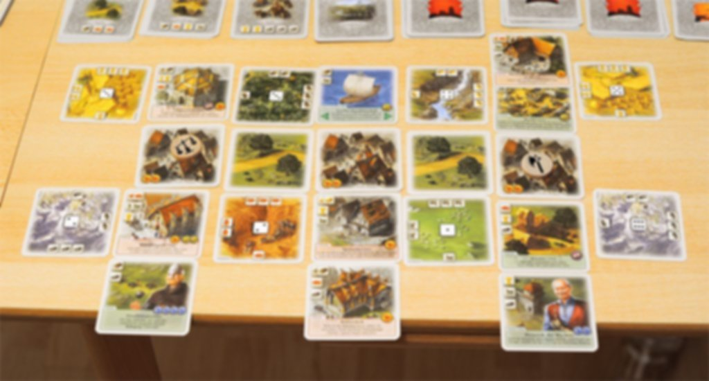 The Rivals for Catan gameplay