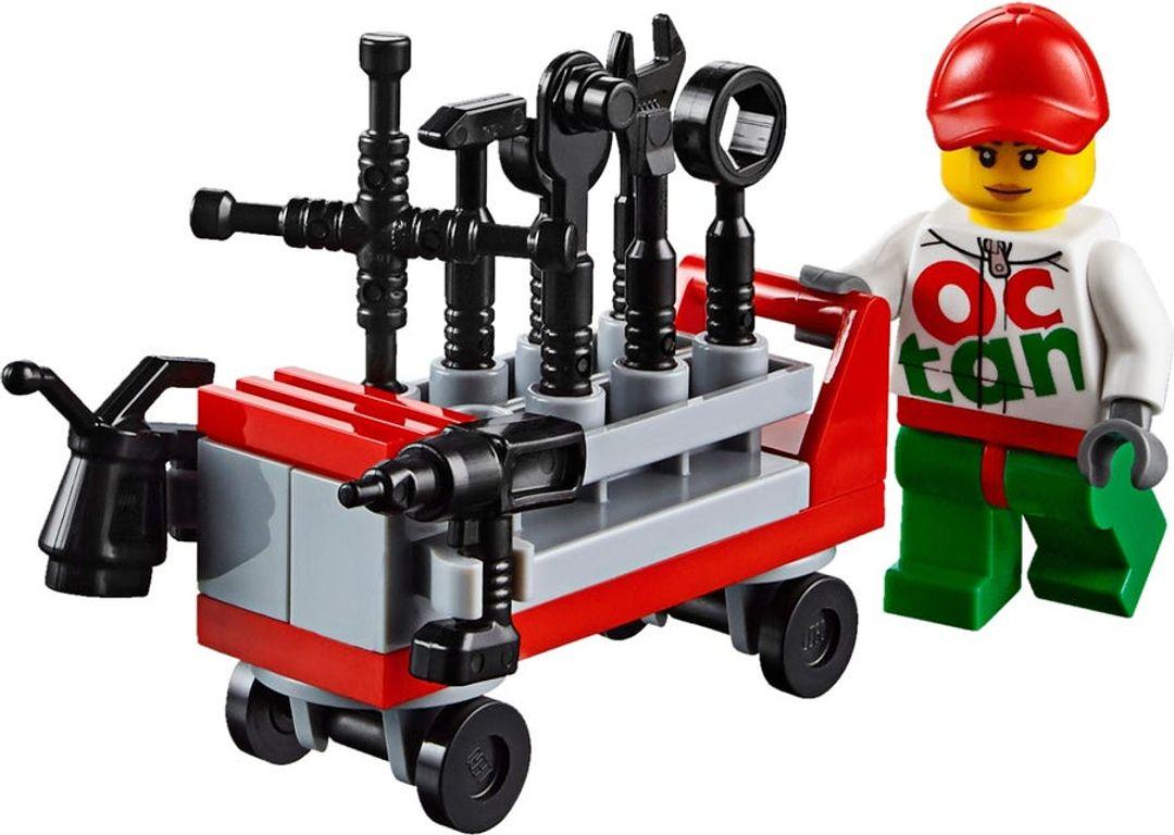 LEGO® City 4 x 4 Off Roader components