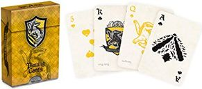 Harry Potter Hufflepuff House Playing Cards cards