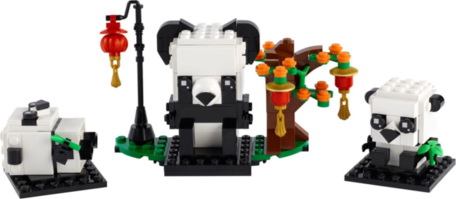 Chinese New Year Pandas components