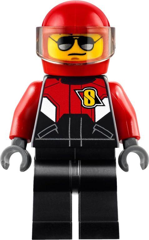 LEGO® City Race Plane minifigures