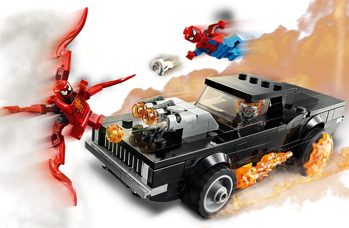 LEGO® Marvel Spider-Man and Ghost Rider vs. Carnage gameplay