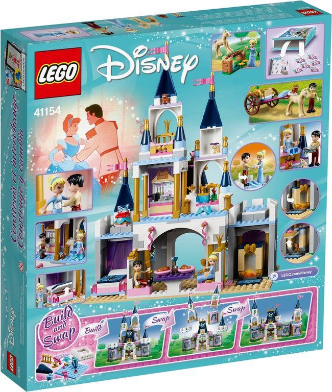 LEGO® Disney Cinderella's Dream Castle back of the box