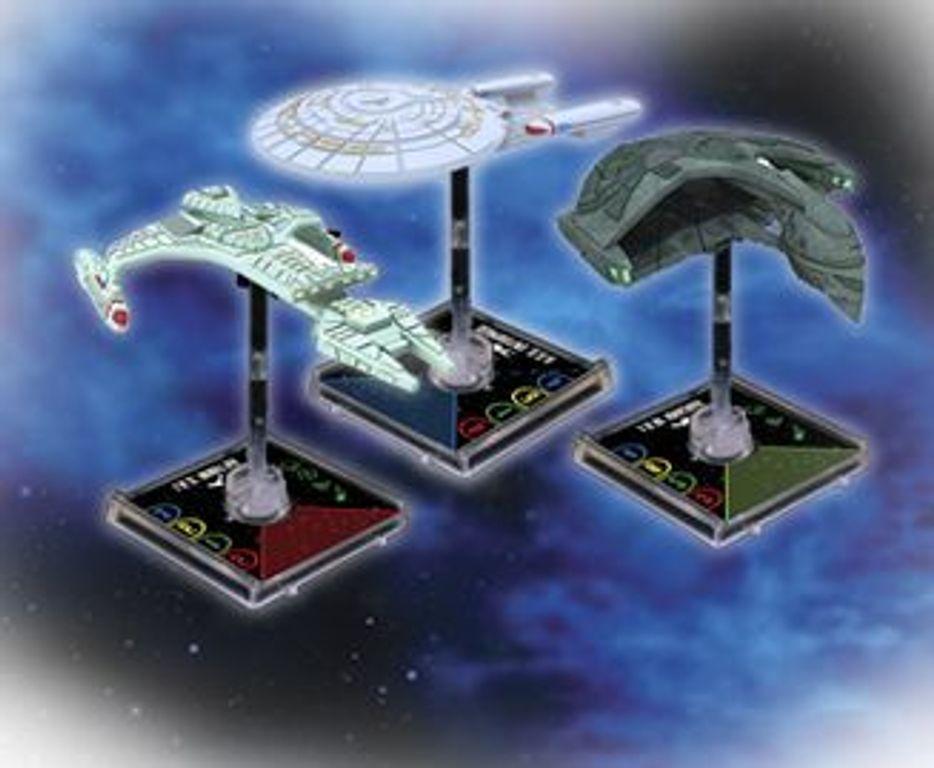 Star Trek: Attack Wing miniatures