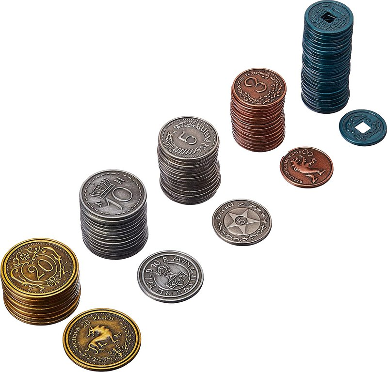 Scythe: Metal Coins Upgrade Pack coins