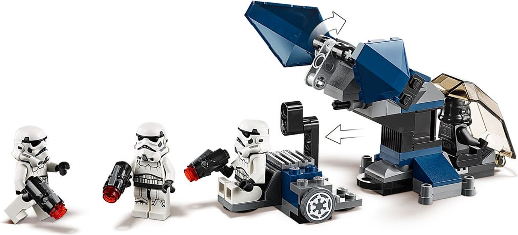LEGO® Star Wars Imperial Dropship™ – 20th Anniversary Edition minifigures