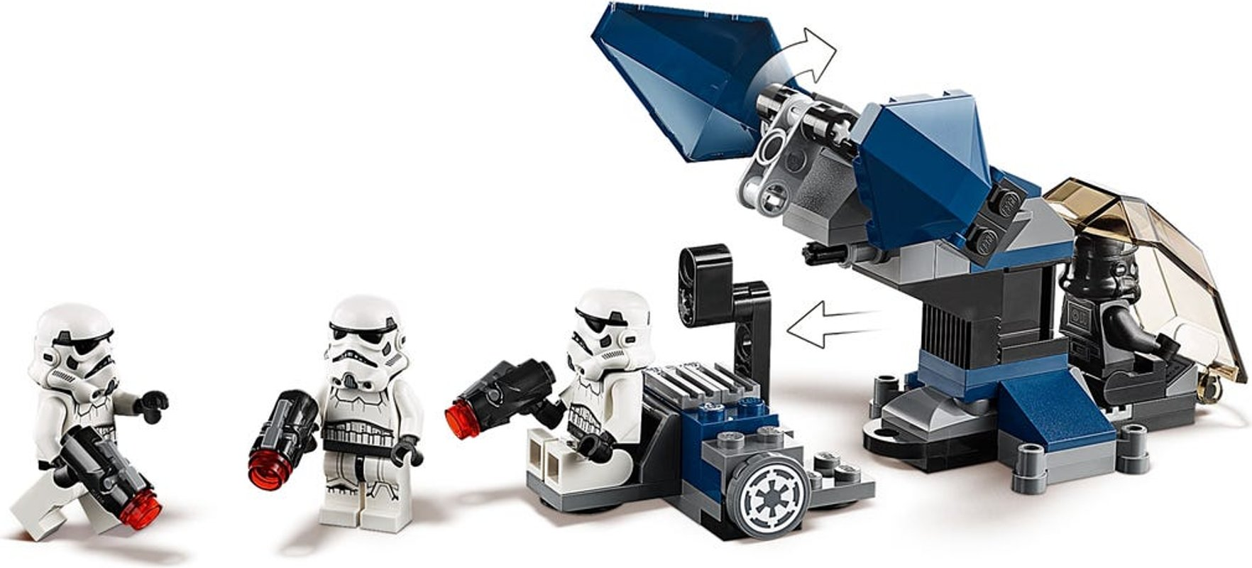 Imperial Dropship™ – 20th Anniversary Edition minifigures