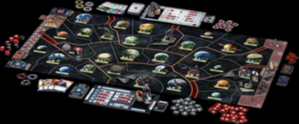 Star Wars: Rebellion components