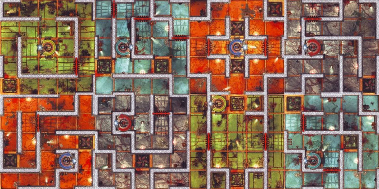 Dungeon Twister tiles