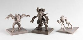 Level 7 [Omega Protocol]: Extreme Prejudice miniatures