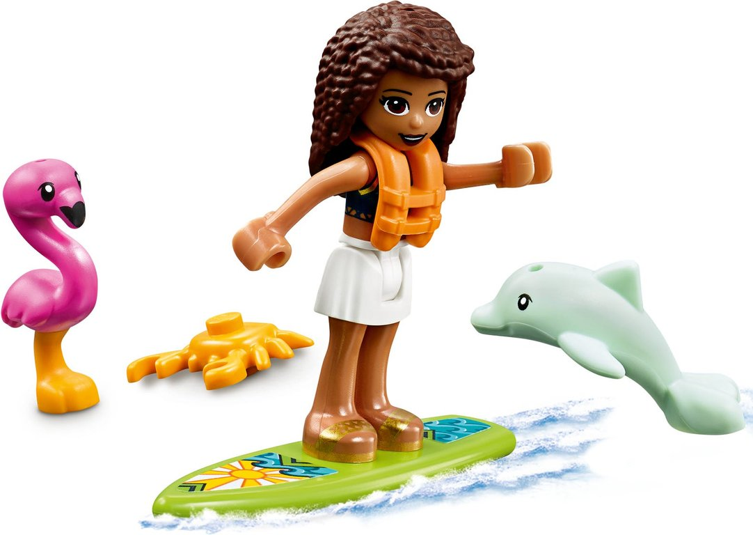 LEGO® Friends Beach House components