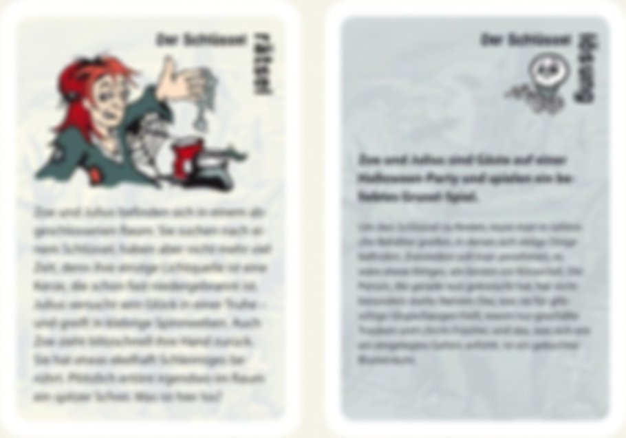 White Stories cards