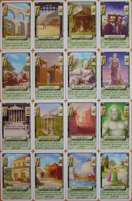 Arena: Roma II cards