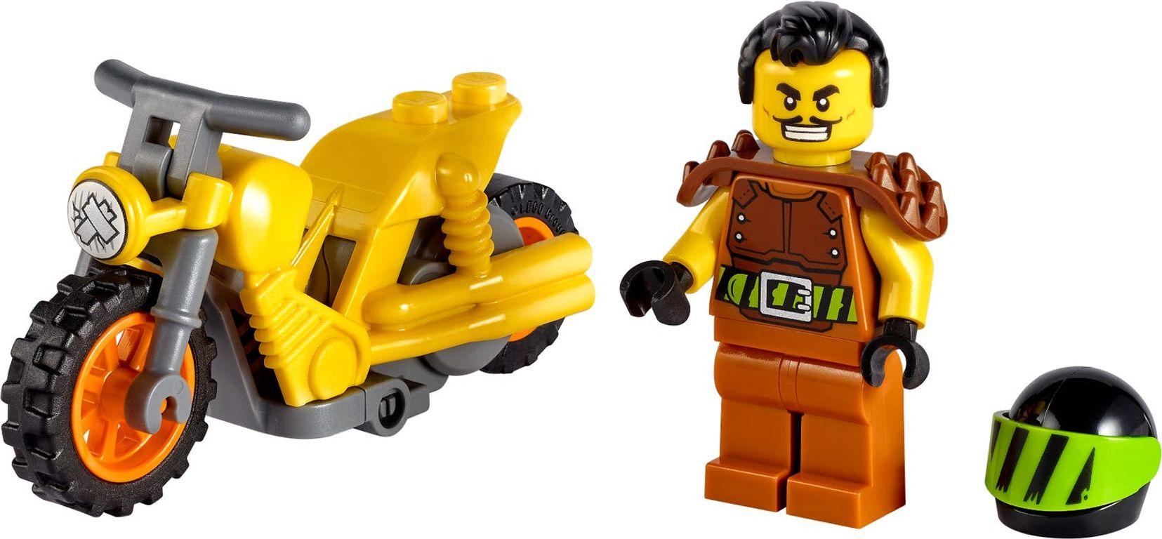 LEGO® City Demolition Stunt Bike components