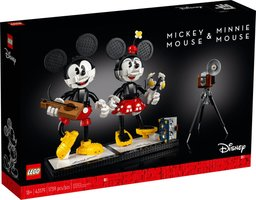 LEGO® Disney Mickey Mouse & Minnie Mouse Buildable Characters