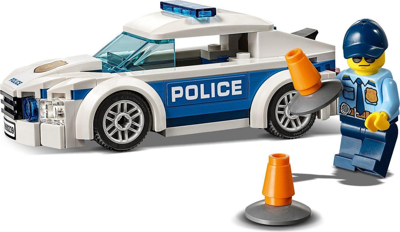 Patrol Car components