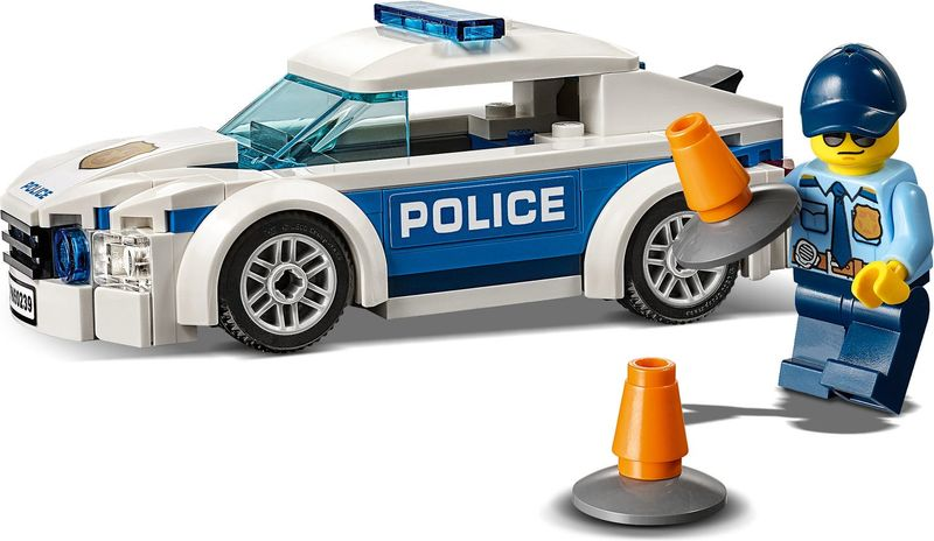LEGO® City Patrol Car components