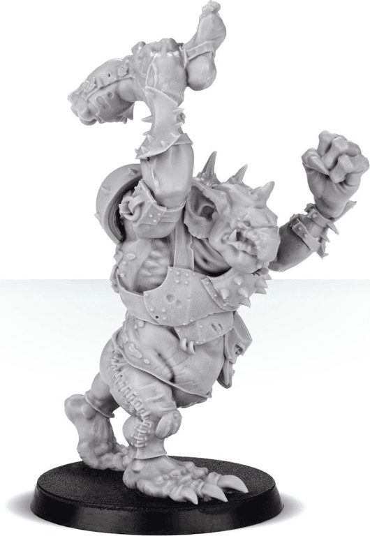Blood Bowl (2016 edition): Troll miniature